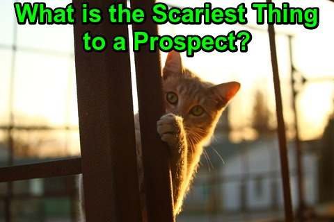 What is the Scariest Thing to a Prospect?