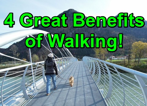 4 Great Benefits of Walking!