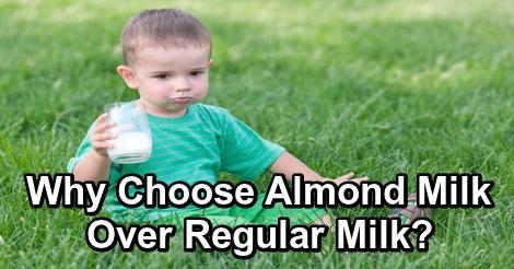 Why Choose Almond Milk Over RegularMilk?